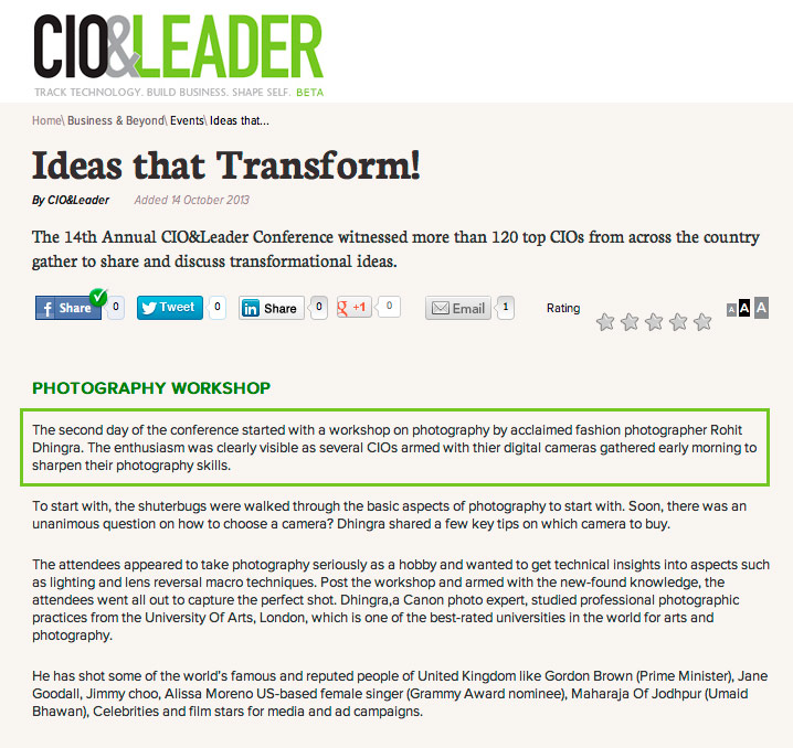 CIO-leader